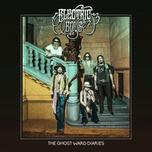 Electric Boys The Ghost Ward Diaries album cover