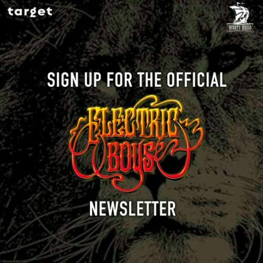 Electric Boys Newsletter